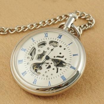 Kapesní hodinky natahovací KH0022