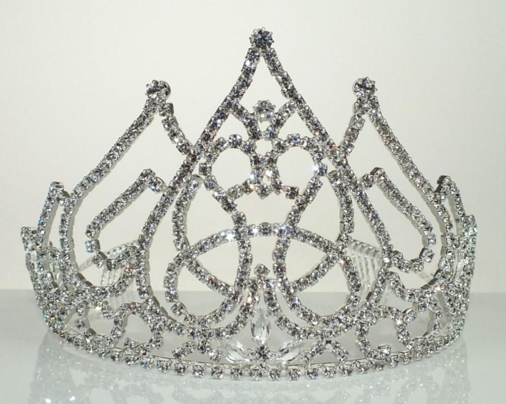 Luxusní svatební korunka do vlasů