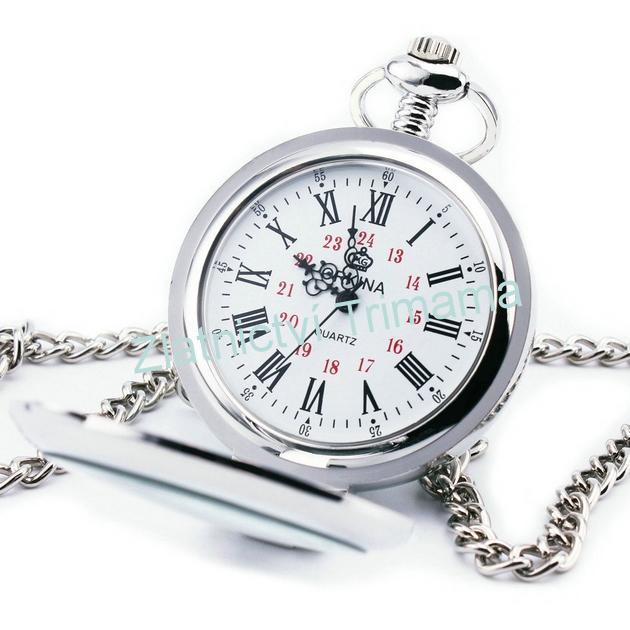 Kapesní hodinky otevírací cibule