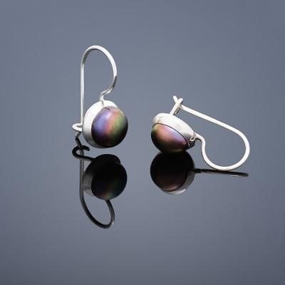 Stříbrné náušnice perly stříbro 925/1000 BUKA104 (Stříbrné náušnice perly stříbro 925/1000 BUKA104)
