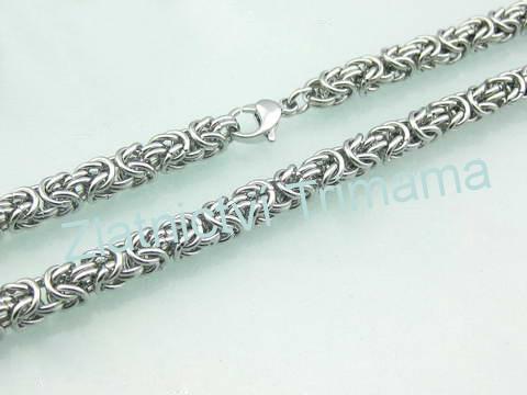 Pánský masivní Řetízek 62 cm chirurgická ocel OPE1042 (Masivní řetízek pro muže z chirurgické oceli)