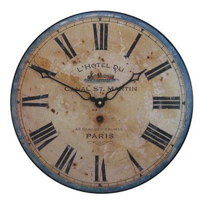 Nástěnné retro hodiny - Canal Roger Lascelles (Nástěnné retro hodiny - Canal Roger Lascelles)