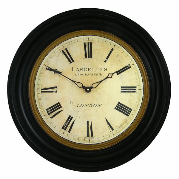 Dřevěné retro hodiny - Lascelles (Dřevěné retro hodiny - Lascelles)