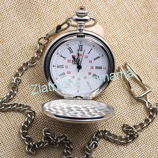 Kapesní hodinky otevírací cibule KH0002