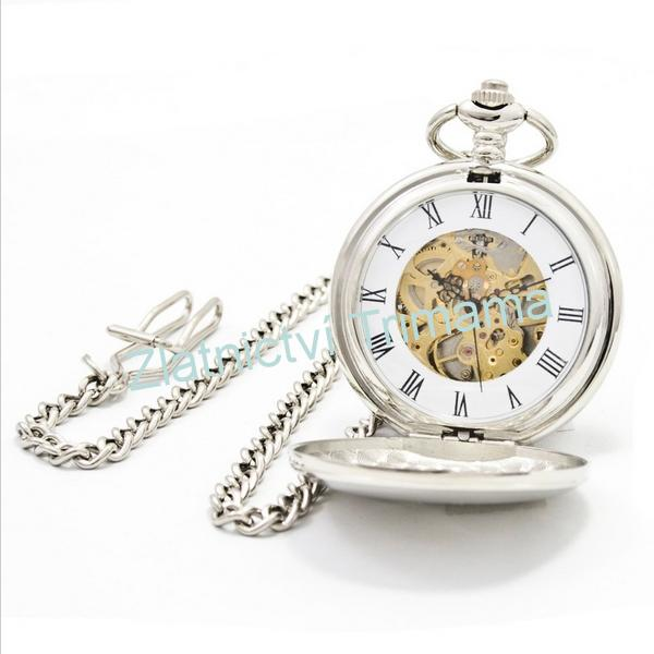 Kapesní hodinky otevírací cibule KH0008