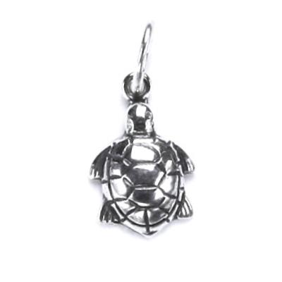 Stříbrný dětský přívěšek želva stříbro Ag 925/1000
