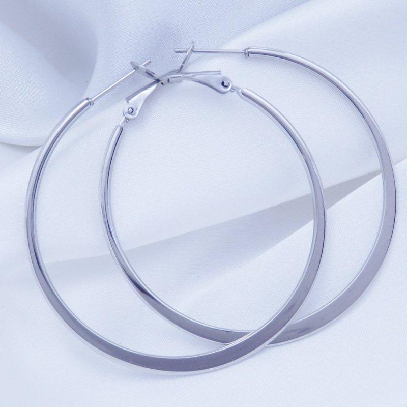 Náušnice kruhy 48 mm chirurgická ocel POŠTOVNÉ ZDARMA