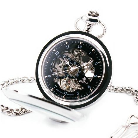 Mechanické kapesní hodinky otevírací cibule POŠTOVNÉ ZDARMA