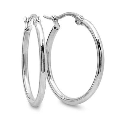 Náušnice kruhy 25 mm chirurgická ocel OPN1355