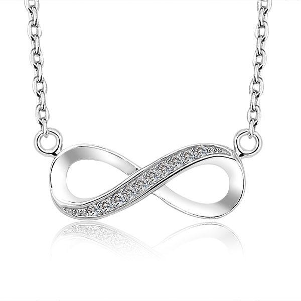 Stříbrný řetízek se symbolem nekonečno AG 925/1000 POŠTOVNÉ ZDARMA